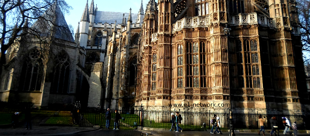 Strolling by Westminster abbey