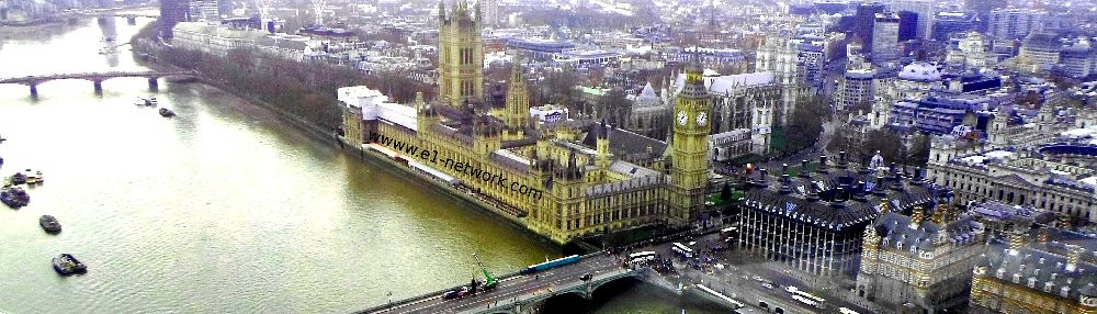 London view from The eye of London